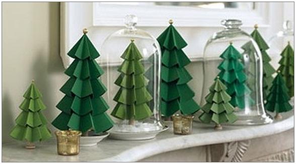бумажные елки