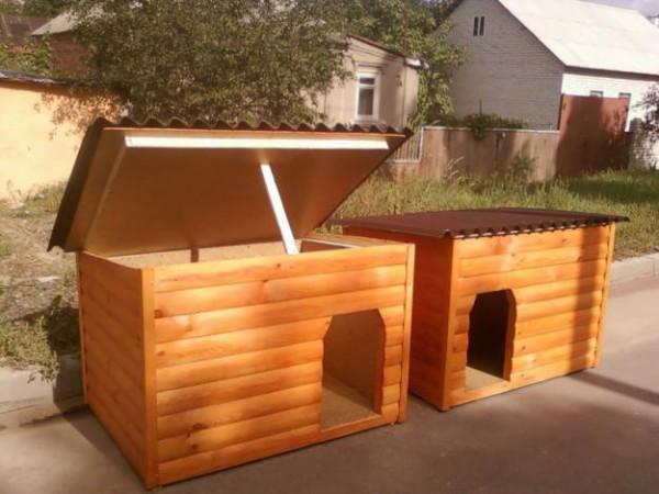 деревянные собачьи будки