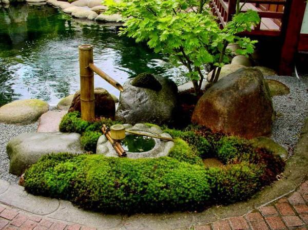 японский фонтан