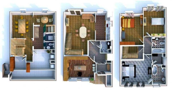 townhouse-plan